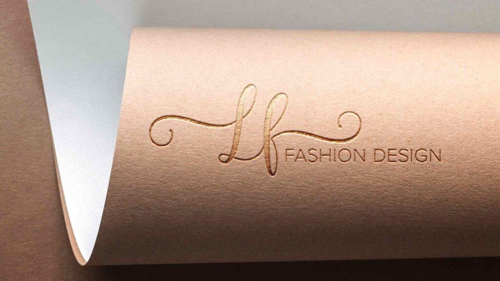 LF fashion design logo