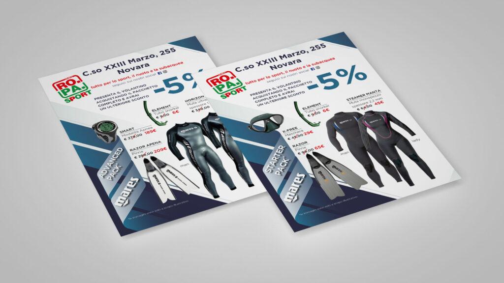 new ropa sport volantini