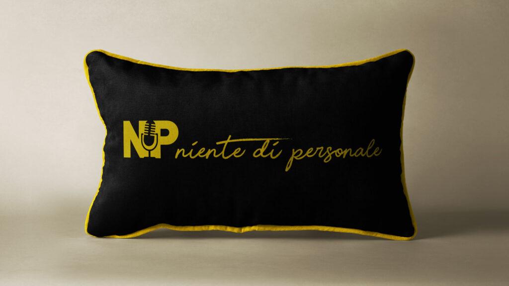 niente di personale cuscino